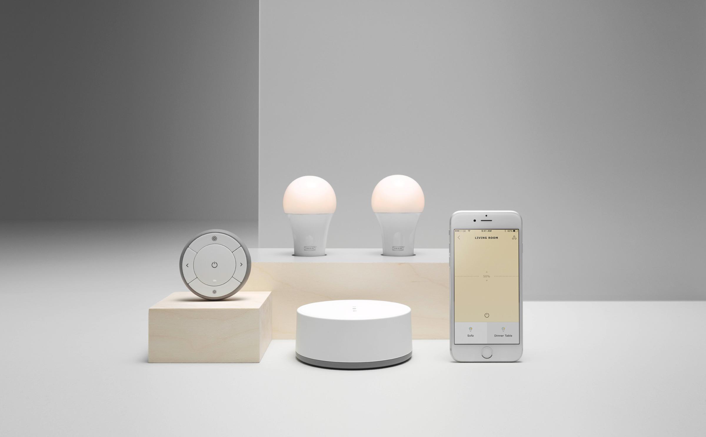 Ikea devient partenaire d'Amazon, Google et Apple