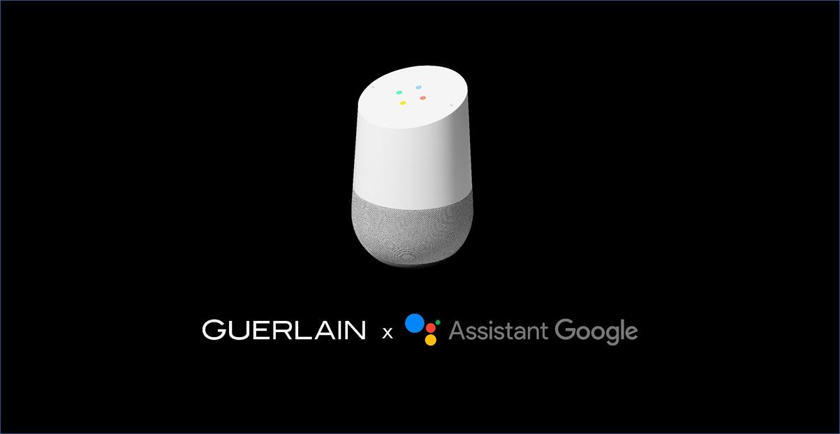 Guerlain arrive sur Google Assistant accompagné par ADN.Ai
