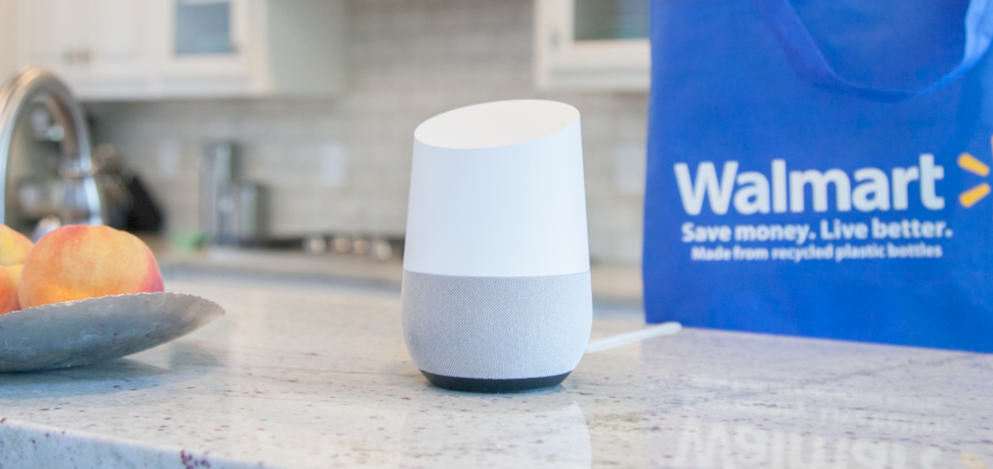 Wallmart et Google Assistant s'associent pour contrer Amazon